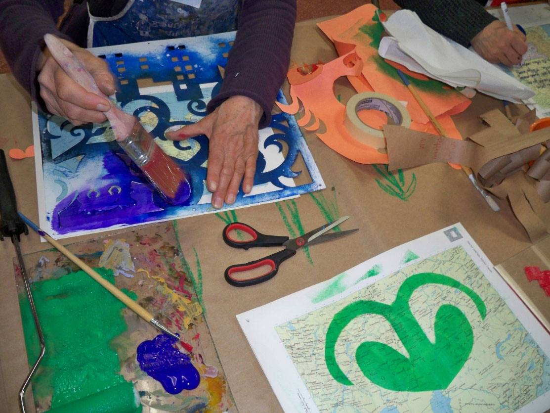 Artful Afternoon program participants