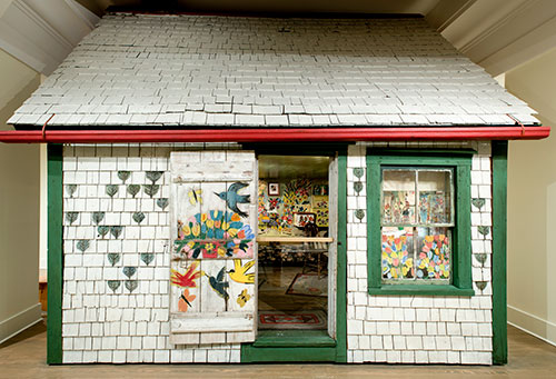 Maud Lewis, Painted HOuse
