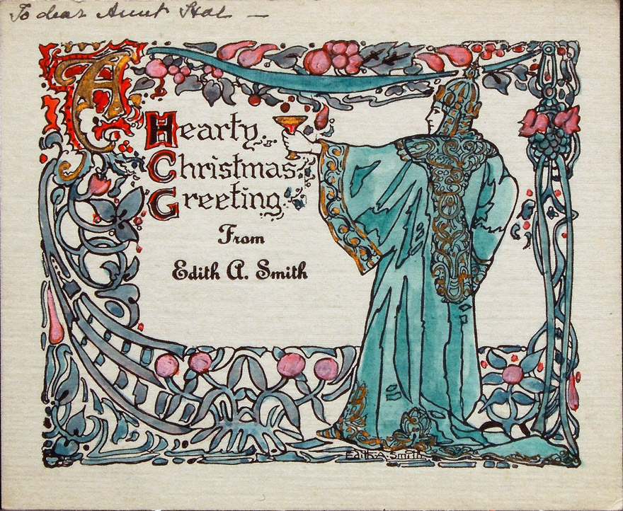 Christmas Card Artist.Made By The Artist Greeting Cards And Other Ephemera