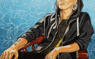 Nelson White, Knowing Meagan Musseau, Artist/Dancer, 2019. Courtesy of the artist as part of a touring exhibition with Grenfell Art Gallery and the Confederation Centre Art Gallery