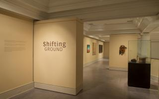 Shifting Ground exhibition on display