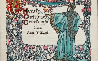Edith Smith, Hearty Christmas Greetings from Edith A. Smith
