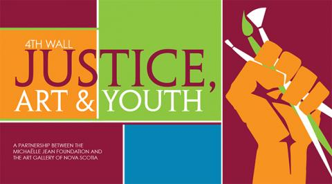 4th Wall Justice Art & Youth banner