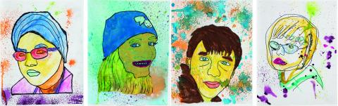 Work by participants of the Autism Arts Program