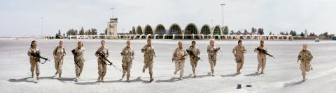 Althea Thauberger, Kandahar International Airport, 2009, digital c-print, dimensions variable. Courtesy of the Artist.