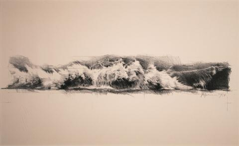 James B. Spencer, Reverse Wave, 1970s. Gift of the Canada Council Art Bank, Ottawa, Ontario, 2005.