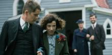 "Ethan Hawke and Sally Hawkins in the 2016 feature-length film ""Maudie"""
