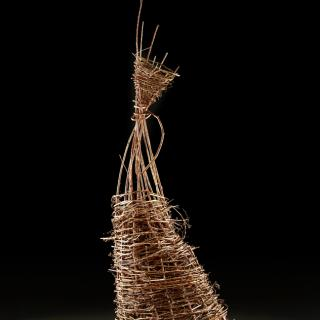 Dawn McNutt, From the Land, twined willow and grapevine