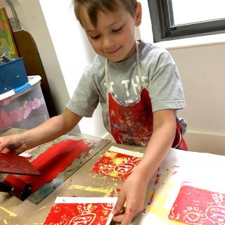 Printmaking in the Studio