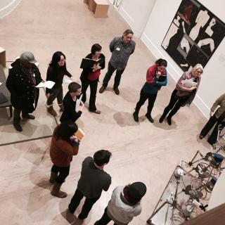Guided tour at the Gallery