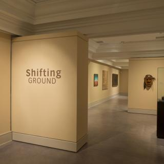 Installation view of Shifting Ground. Photo: Steve Farmer.