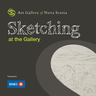Sketching at the Gallery